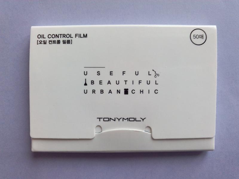 Matte Face Oil Blotting Film [TonyMoly] (2)