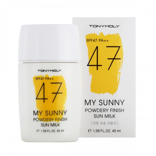 My Sunny Powdery Finish Sun Milk [TonyMoly]