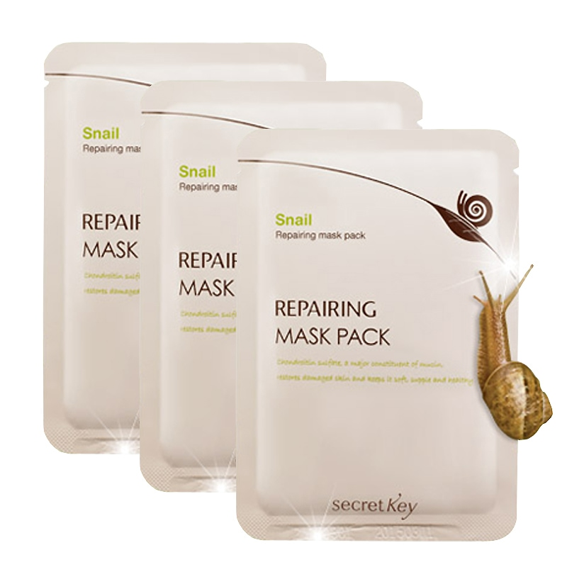 Snail Repairing Mask Pack [Secret Key]