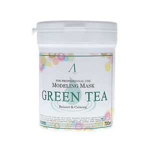 Modeling Mask Green Tea For Balance & Calming [Anskin]