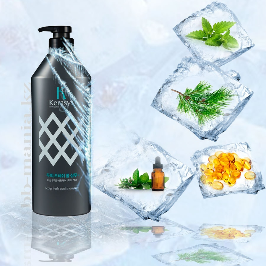 Scalp Fresh Cool Shampoo [Kerasys]