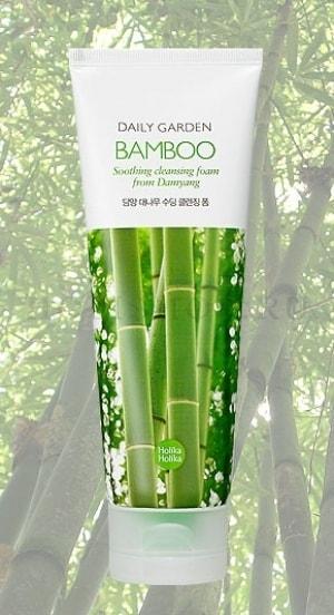 Daily Garden Damyang Bamboo Soothing Cleansing Foam [Holika Holika]