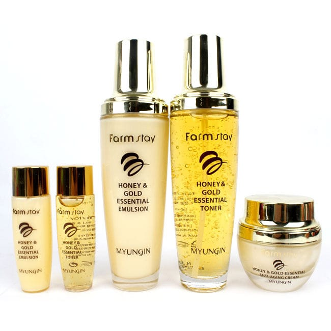 Honey & Gold Skin Care Set [Farmstay]