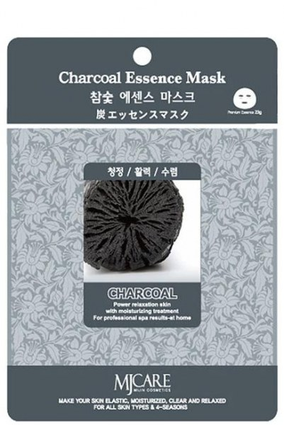 Charcoal Essence Mask [Mijin]