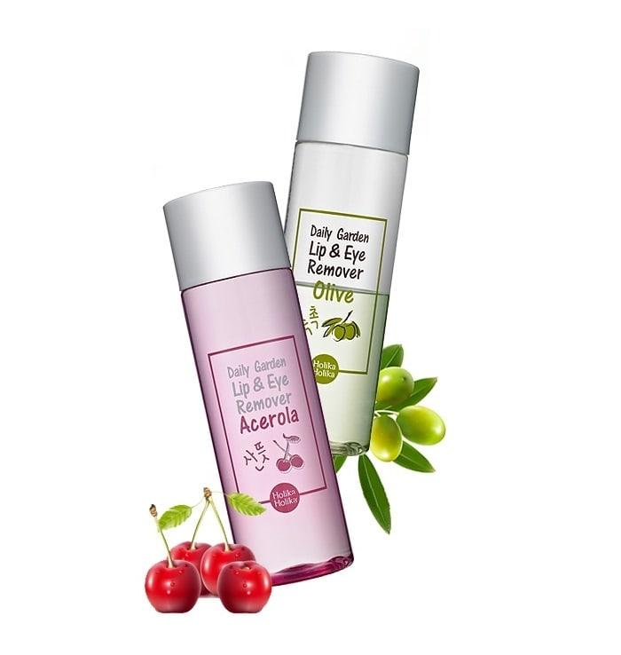 Daily Garden Acerola Lip&Eye Remover [Holika Holika]