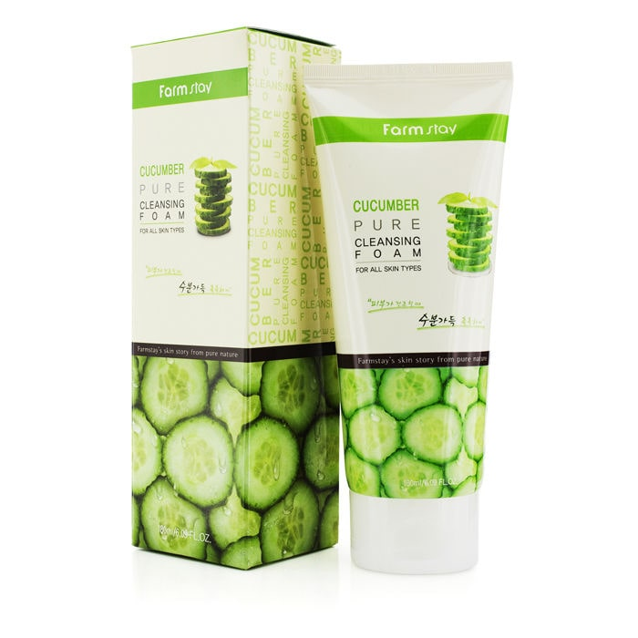 Pure Cleansing Foam  Cucumber [Farmstay]