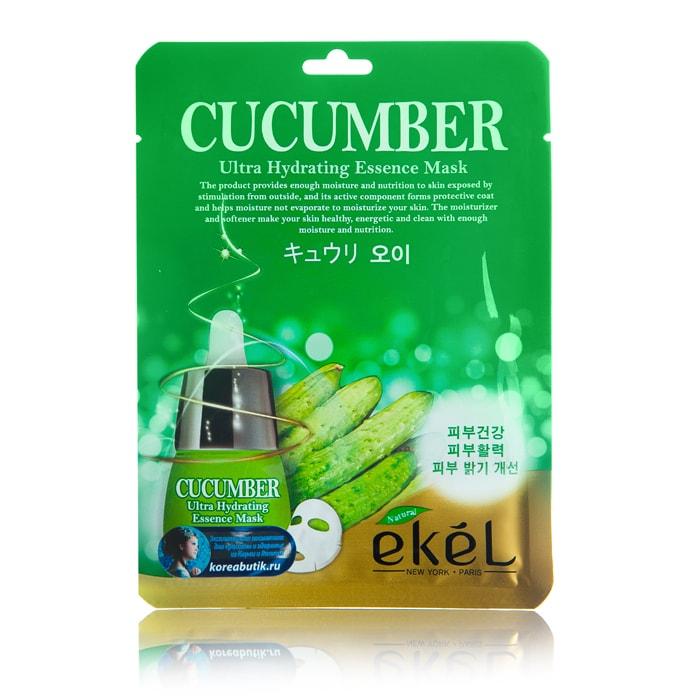 Cucumber Ultra Hydrating Essence Mask [Ekel]