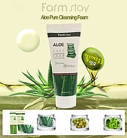 Aloe Pure Cleansing Foam [FarmStay]