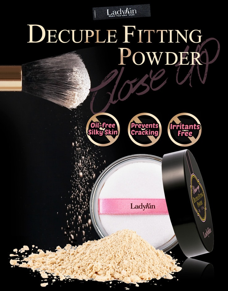 Close Up Decuple Fitting Powder [LadyKin]