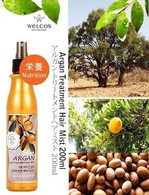 Confume Argan Gold Treatment Hair Mist [Welcos]