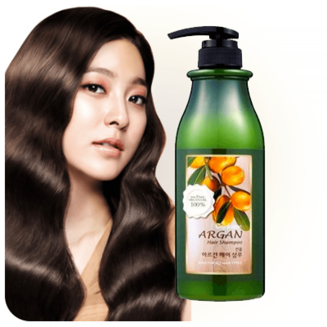 Шампунь для волос с аргановым маслом welcos confume argan hair shampoo