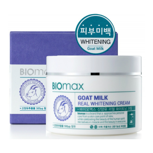 Goat Milk Real Whitening Cream [Welcos]