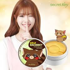 Gold Racoony Hydrogel Eye [Secret Key]