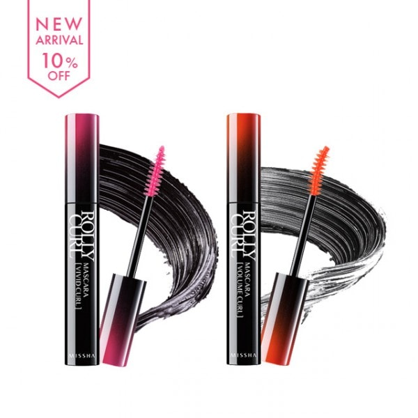 Rolly Curl Mascara [Missha]