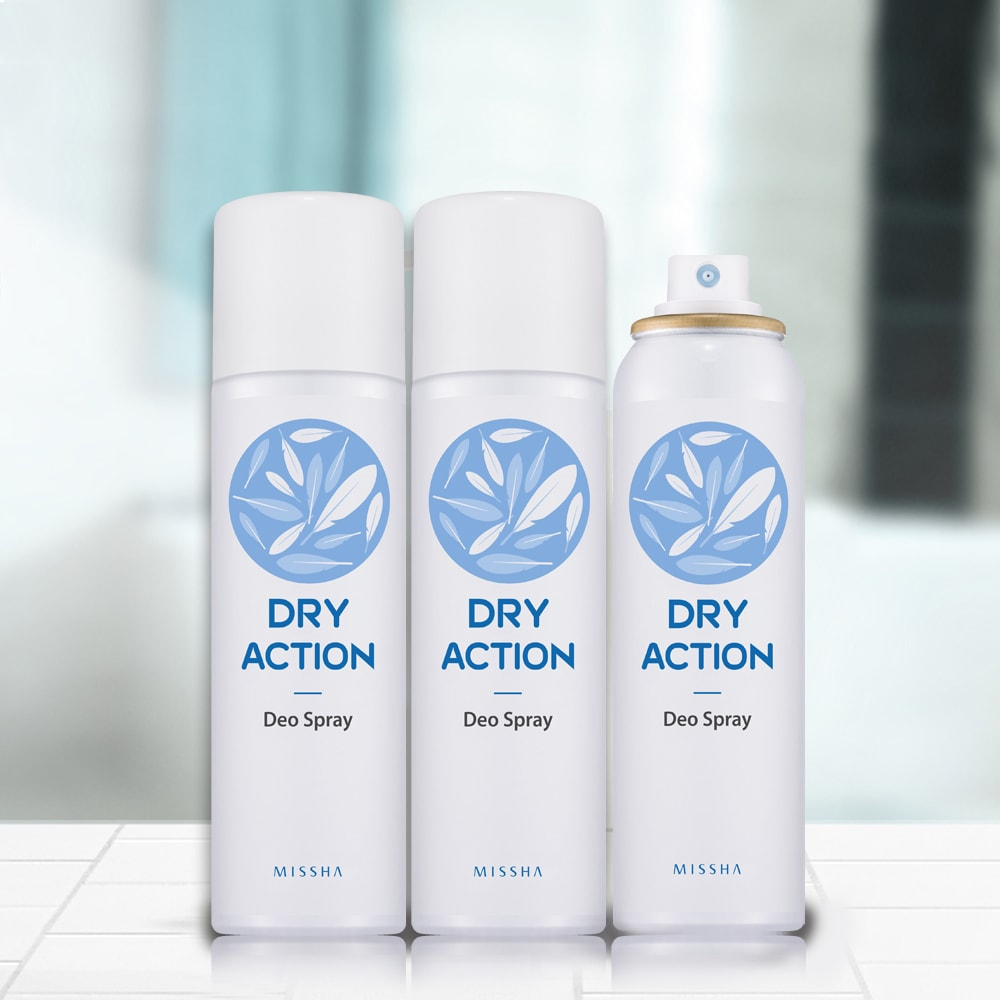 Dry Action Deo Spray [Missha]