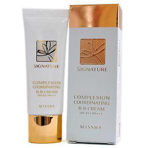 Signature Complexion Coordinating BB Cream White [Missha]