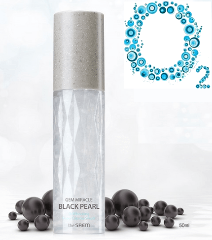 Gem Miracle Black Pearl O2 Whitening Capsule Serum [TheSaem]