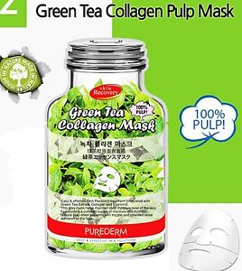 Green Tea Collagen Mask [Purederm]