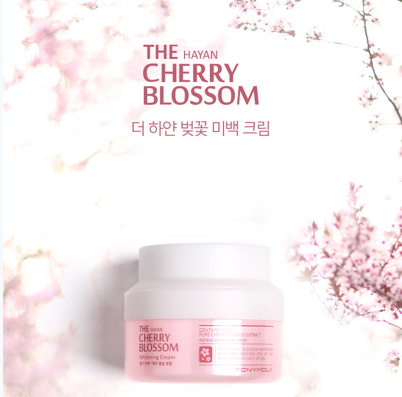 The Hayan Cherry Blossom Whitening Cream [TonyMoly]