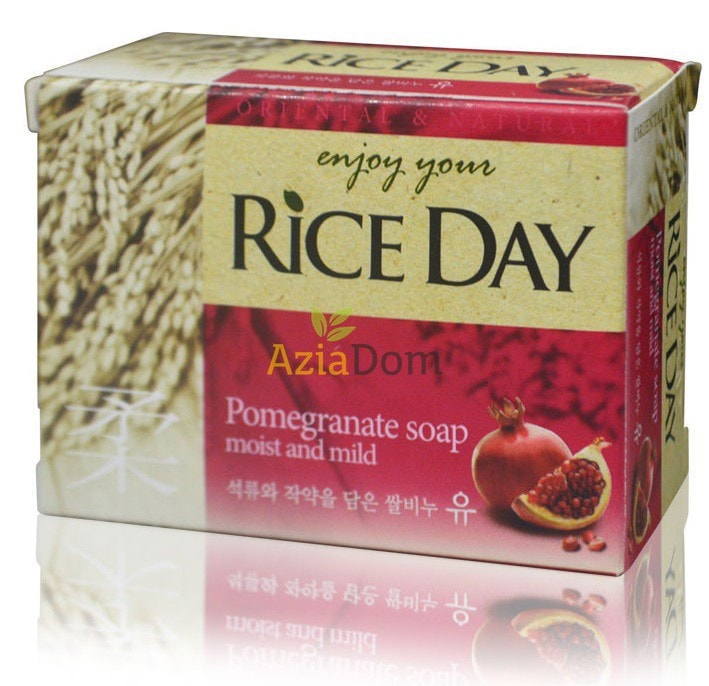Oriental & Natural Soap Pomegranate [Rice Day]