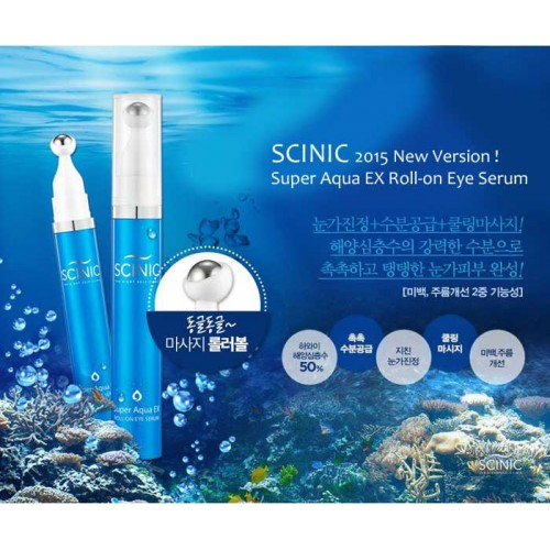 Super Aqua EX Roll-On Eye Serum [Scinic]