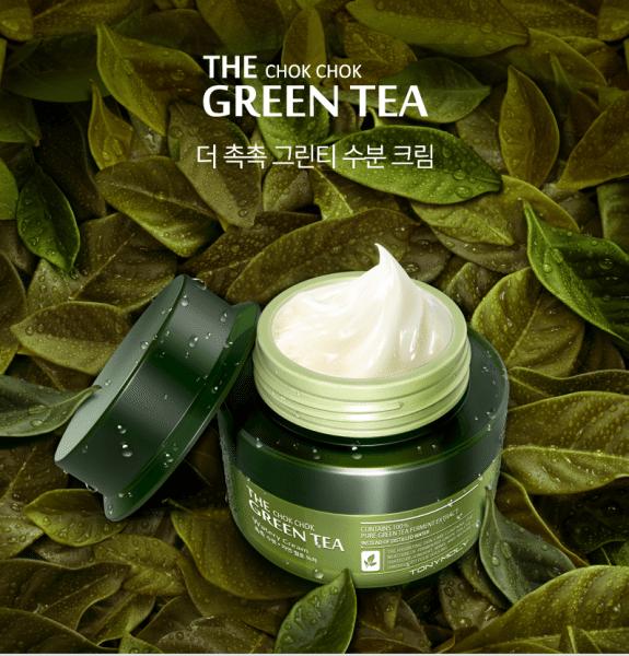 Chok Chok Green Tea Watery Cream [TonyMoly]