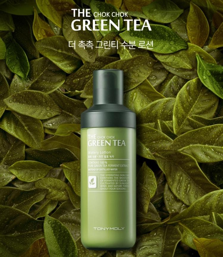 The Chok Chok Green Tea Watery Lotion [TonyMoly]