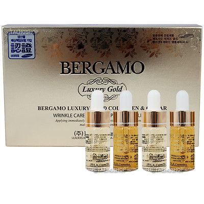 Luxury Gold Collagen & Caviar Wrinkle Care Intensive Repair Ampoule Set [Bergamo]