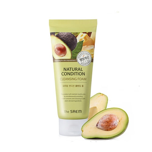 Natural Condition Cleansing Foam Nourishing [The Saem]