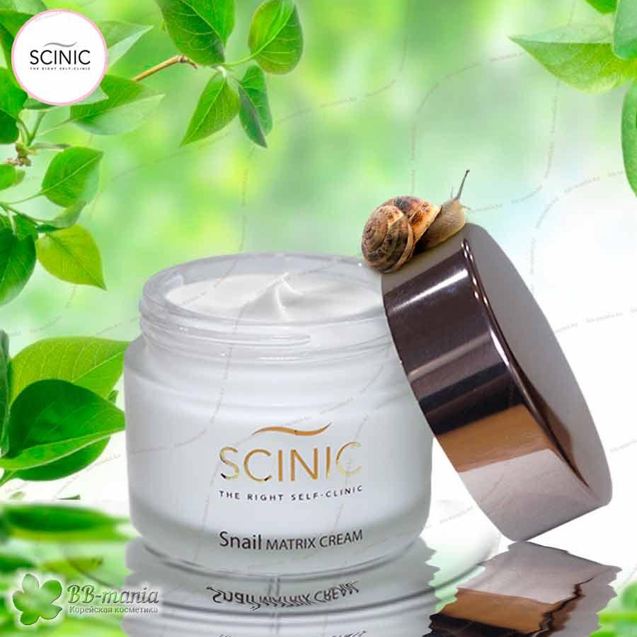 Snail Matrix Cream [Scinic]