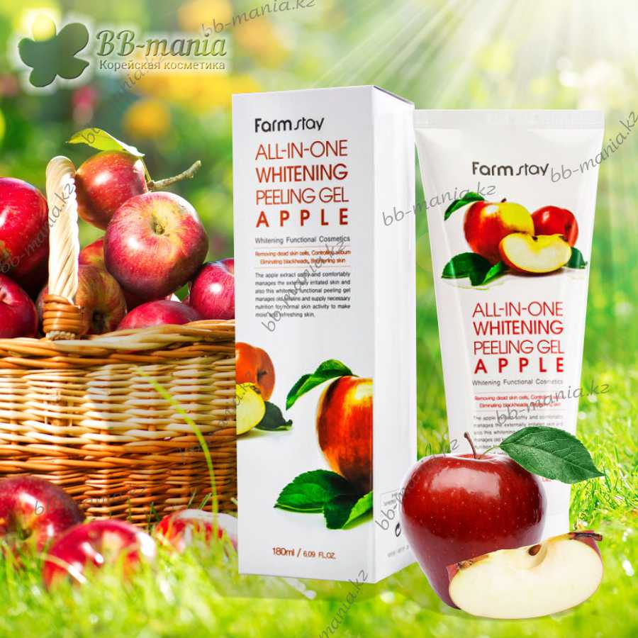 All-In-One Whitening Peeling Gel - Apple [FarmStay]