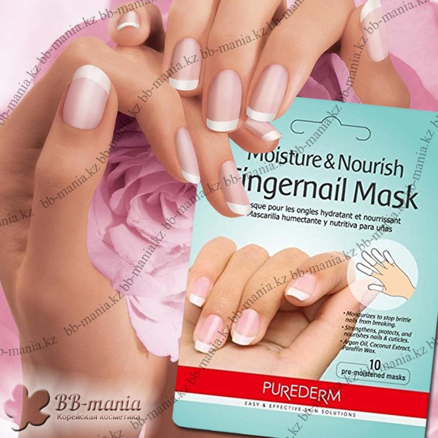 Moisture & Nourish Fingernail Mask [Purederm]