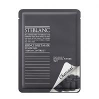 Steblanc Essence Sheet Mask Charcoal [Mizon]