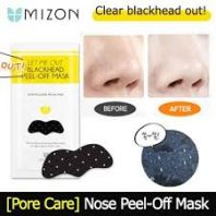 Let Me Out Blackhead Peel-Off Mask [Mizon]