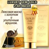 Luxury Gem Gold 24K Mask [TonyMoly]