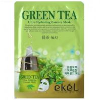 Green Tea Ultra Hydrating Essence Mask [Ekel]