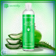 Aloe Soothing Moist Toner [Secret Key]