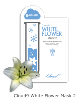 Cloud9 White Flower Mask2 Soothing [Claire's Korea]