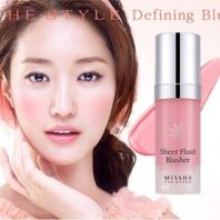 The Style Sheer Fluid Blusher [Missha]