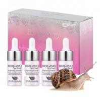 Pure Snail Brightening Ampoule Set [Bergamo]