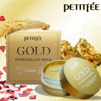 Gold Hydrogel Eye Patch +5 Golden Complex [PetitFee]