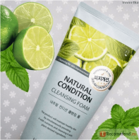 Natural Condition Cleansing Foam Sebum Control [The Saem]