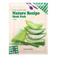 Nature Recipe Mask Pack Aloe [Secret Key ]