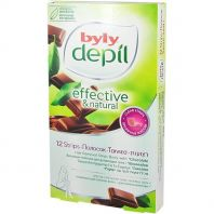 Hair Removal Strips Body Chocolate [Byly Depil]