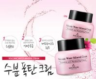 Volcanic Water Mineral Cream [The Skin House]