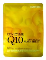 Coenzyme Q10 Mask Sheet [Baroness]
