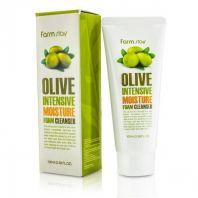 Olive Intensive Moisture Foam Cleanser [FarmStay]
