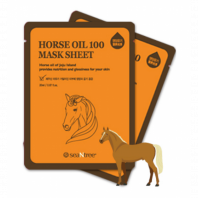 Horse Oil 100 Mask Sheet [Seantree]
