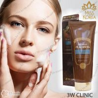 Premium Placenta Clear Foam Cleansing [3W CLINIC]
