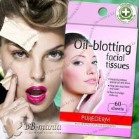 Oil-Blotting Facial Tissues [Purederm]